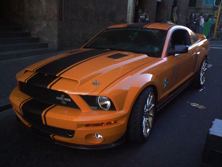 1st day on set, Darling Street #CapeTown @AllenIrwin01 427 Special Edition Shelby GT500 Super Snake @CarrollShelby @shelbyamerican #Deathrace2 #MyOctane #Mustang #stunts