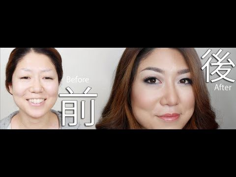 Makeup for Asian Women + Hooded eyes Makeup Tutorial