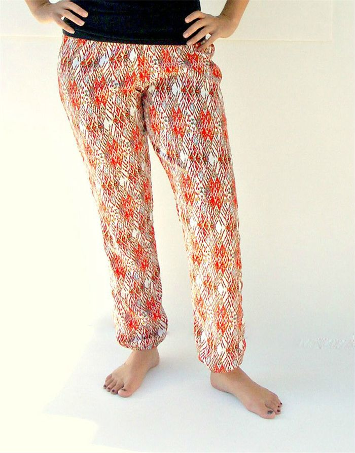 Women's Lounge Pants Burnt Orange