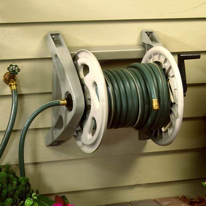 Suncast Handler 200 Ft Garden Hose Reel Outdoor With Images