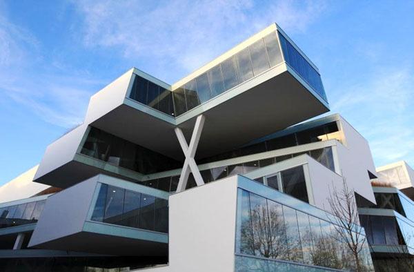 Actelion Business Center by Herzog & de Meuron: Meuron Architects, Allschwil, Business Architecture, Actelion Business, De Meuron, Business Center, Houses Architecturebuild, Architecture Offices, Center Design