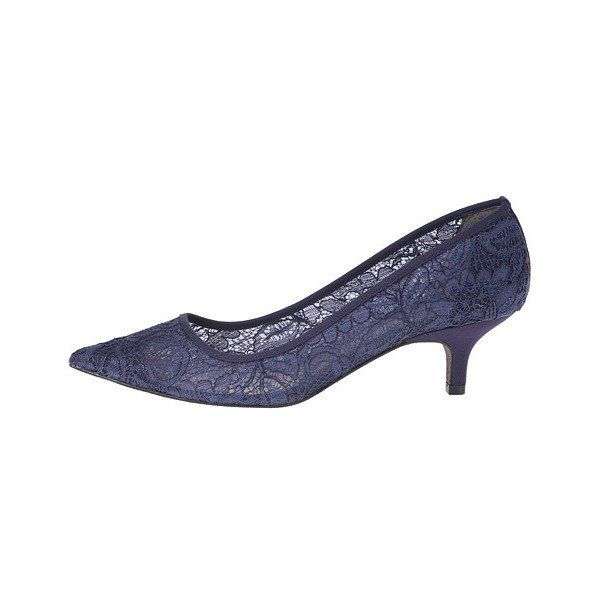 Flv327 Navy Kitten Heel Shoes Mother Of The Bride Shoes Bride Shoes