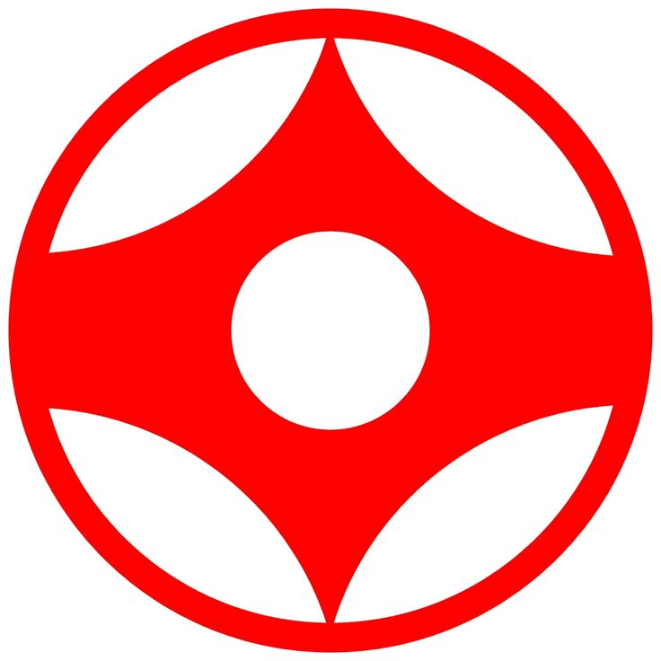 The Kanku - Kyokushin Karate symbol