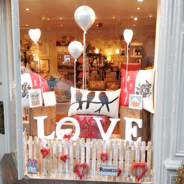 Shop Window Retail Display Visual Merchandising Valentines