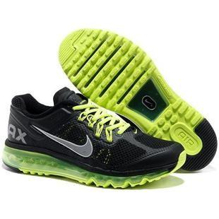 Cheap nike air max 2013 for mens shoes green black size 40 cheap Nike Air Max If you want to look Cheap nike air max 2013 for mens shoes green black size ...