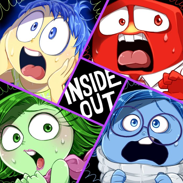 Inside Out 2015 Film: INSIDE OUT! -fear- By Hentaib2319.deviantart.com On