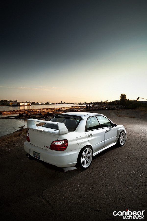 2004 Subaru WRX STI that wing is beyond sexy #Rvinyl: Pinning the #BestofStance…