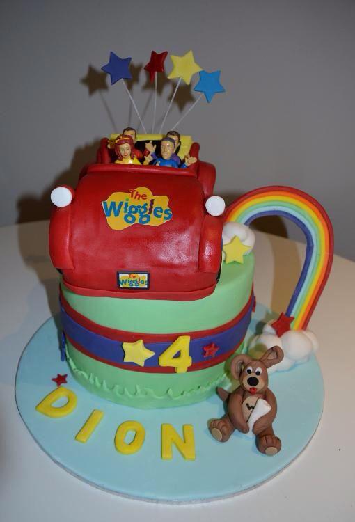 Wiggles Cake