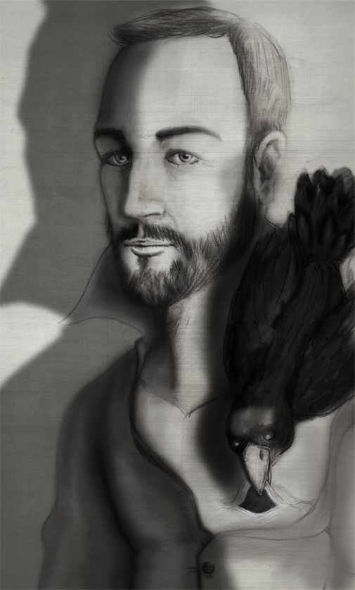 Selfportrait pencil