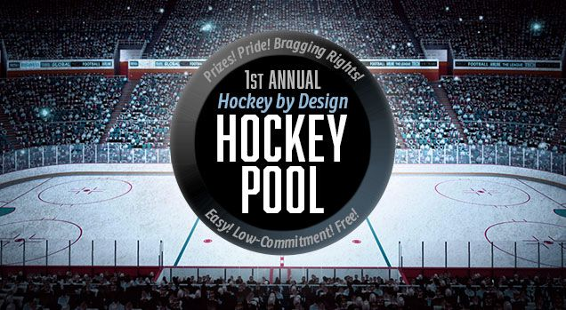 1ST ANNUAL HBD HOCKEY POOL! Free entry, win sweet prizes.
