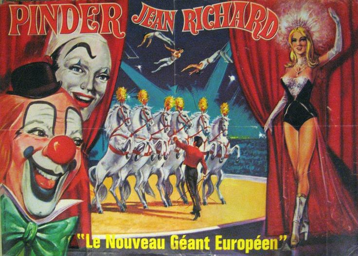 Cirque Pinder Jean Richard 02