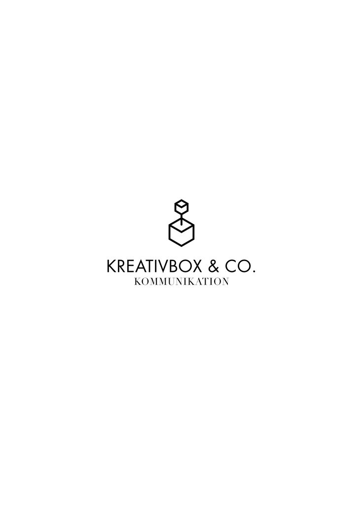 Redesign for Kreativbox // Logotyp and graphic profile.