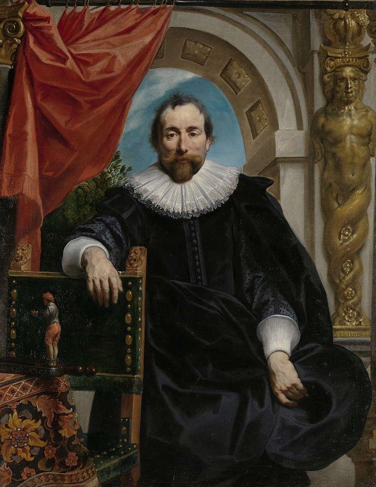 Portret van Rogier Le Witer, koopman in Antwerpen, Jacob Jordaens (I), 1635