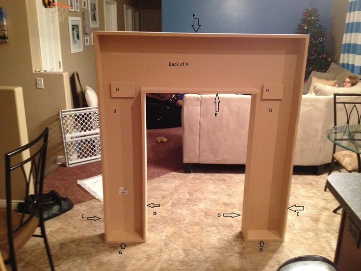 How to make a mantel for your living room or bedroom