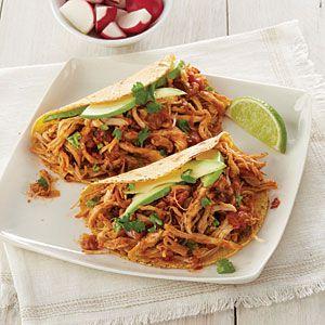 Slow-Cooker Salsa Chicken Recipe | MyRecipes.com