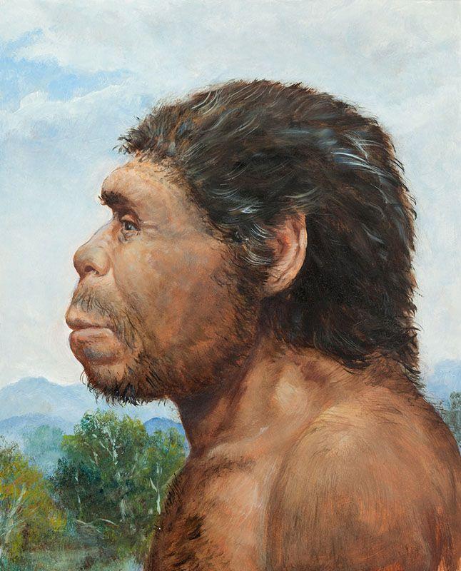 Homo heidelbergensis by Petr Modlitba