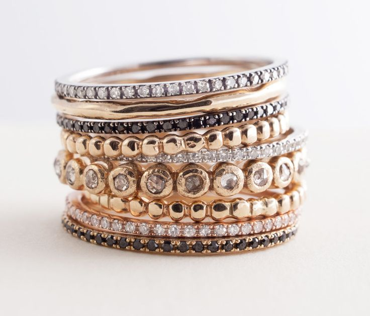 a stack how rings to pro stacked like