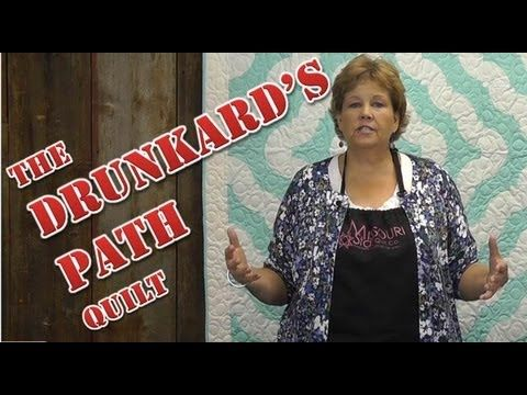 Easiest Drunkard's Path! http://missouriquiltco.com -- Jenny Doan shows us how to make a fun Drunkard's Path Quilt using Layer Cakes