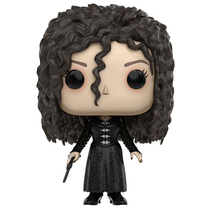 Bellatrix Lestrange est un personnage des livres et films Harry Potter de J.K Rowling. Elle y apparait à partir du cinquième épisode et devient l'une des plus grandes ennemis du jeune garçon. Dans...