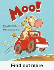 "Moo! / David LaRochelle ; illustrated by Mike Wohnoutka. So many different ways of saying ""Moo""!"