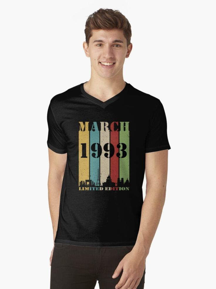 Vintage Year 1992 Limited Edition 27th Birthday Mens Funny T-Shirt 27 Year Old