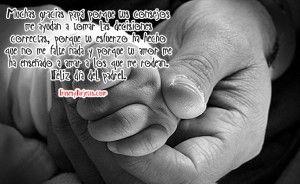 tiernas imágenes con dedicatorias para el día del padre
