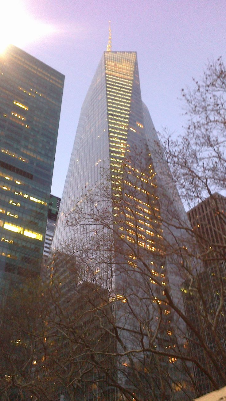 Bank of america tower NY  Foto Obdulio Valencia  B.