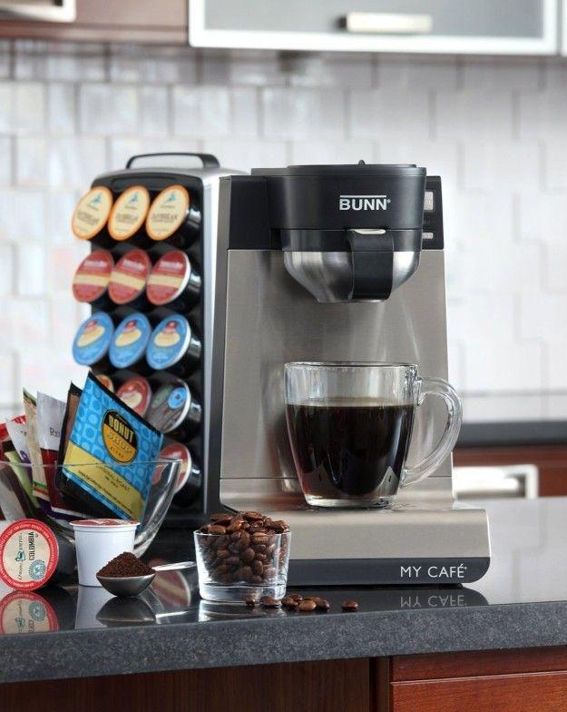 How do you clean a Bunn coffee maker?