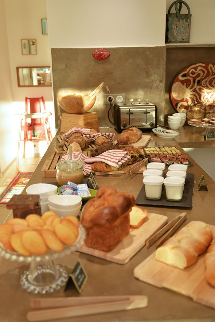 Breakfast at Hotel96 in Marseille, France ! So yummy and home made food !