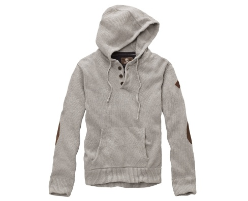 Love this Timberland Earthkeepers® Half-Button Hooded Sweater - It would look great embroidered!  Comes in Navy as well!