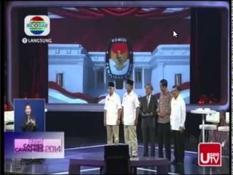 Final Debat Capres RI, 5 Juli 2014 - Prabowo Hatta VS Jokowi JK ( Pembuk...