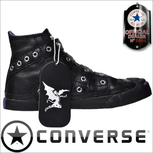 CONVERSE ALL STAR CHUCKS SCHUHE EU 38 UK 5,5 LEDER BLACK SABBATH SONDERMODELL