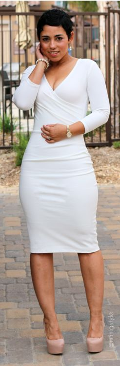 DIY Winter White Dress / Mimi G.