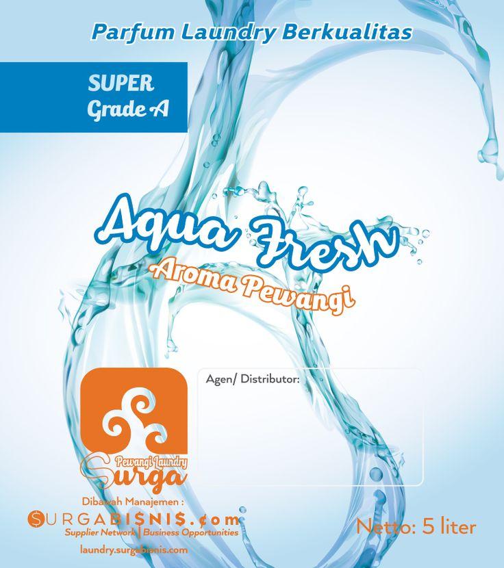 parfum laundry aqua fresh
