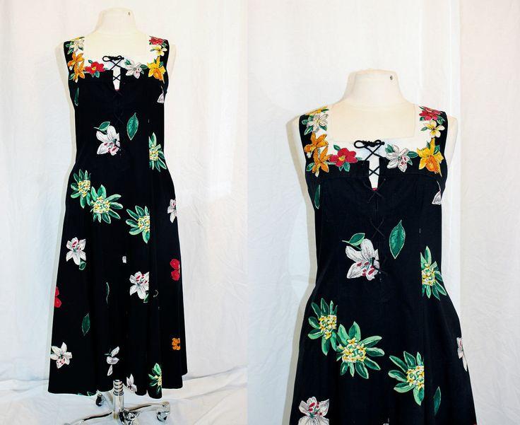 Vintage Luau Dress