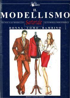 Il modellismo,Book for Patternmaking,Milano,Instituti Burgo