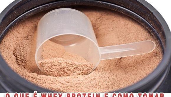 Whey Protein – O que é, efeitos e como tomar #wheyprotein