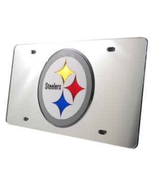Rico Industries Pittsburgh Steelers License Plate - Silver