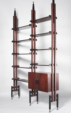 1950s bookcases by Franco Albini