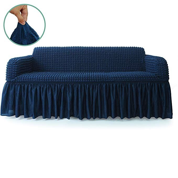 Stars 1 Piece Stretchable Easy Fit Sofa Cover Durable Furniture Slipcover In Country Style Made Of Machine Washable Furniture Slipcovers Sofa Covers Slipcovers