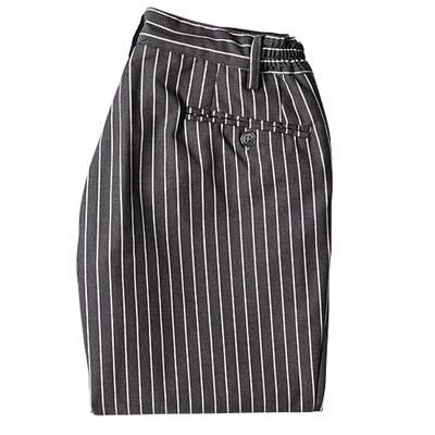 Pantalone Roger gessato grigio. Tessuto in polycotton.