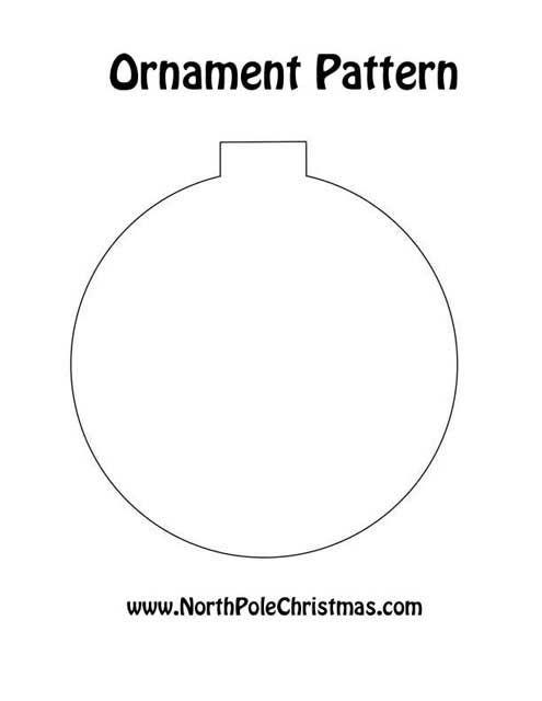 Ornament Pattern north pole christmas.com