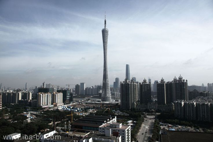 Canton Tower / Information Based Architecture