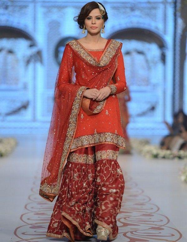 Short Choli With Sharara Suits Pakistani Mehndi Dress