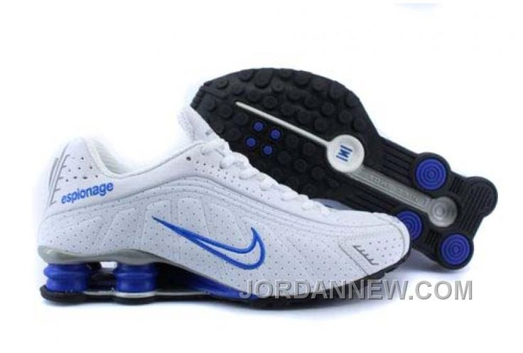http://www.jordannew.com/mens-nike-shox-r4-shoes-white-blue-grey-authentic.html MEN'S NIKE SHOX R4 SHOES WHITE/BLUE/GREY AUTHENTIC Only $77.63 , Free Shipping!