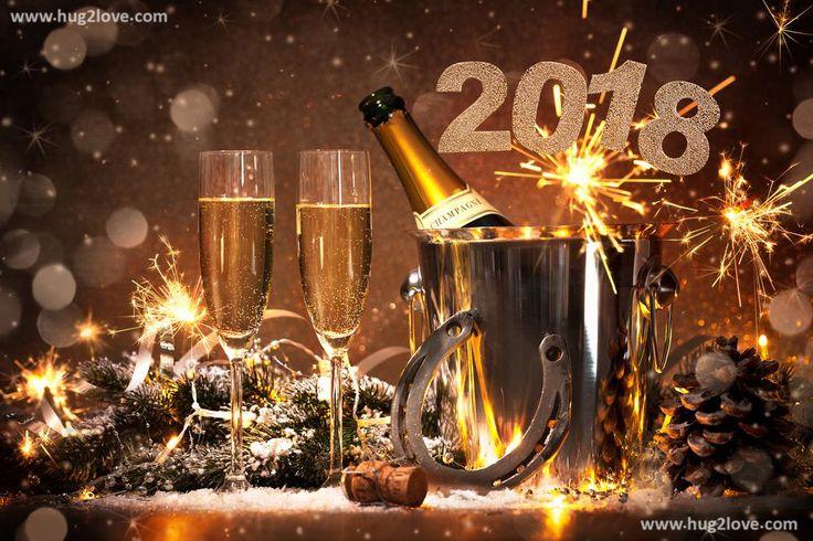 Cheers Happy New Year 2018 Wallpaper Desktop