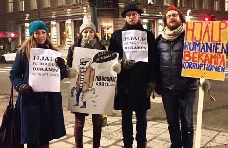 Protest Suedia