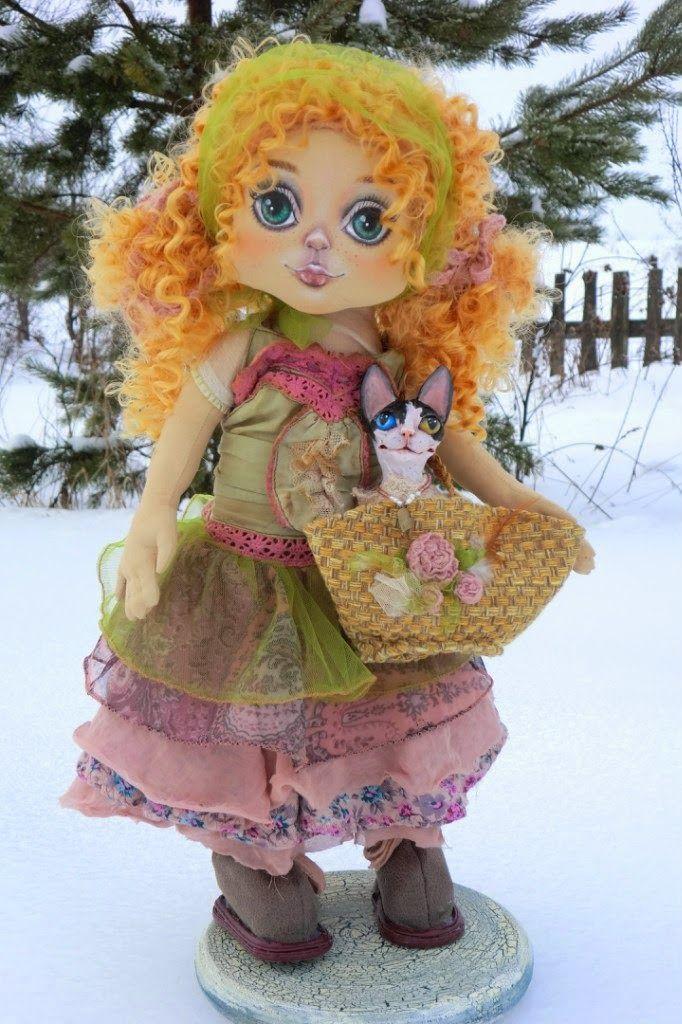 Текстильные куклы, игрушки и украшения Лилии Сколовой