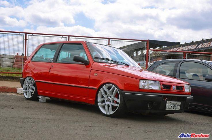 Mega Encontro Derrubados Club - Fiat Uno - from Brazil * www.autocustom.com.br