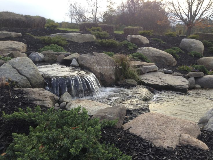 33 best images about ponds rochester ny backyard ponds for Large pond waterfall